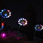 See the sound of the MUFFFs (Musical Universe of Faux Fur Flowers, a sound-interactive art installation)